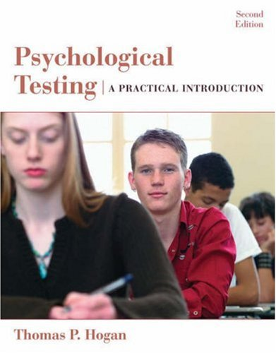 Psychological Testing: A Practical Introduction