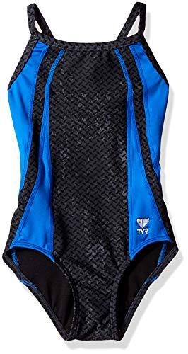 TYR Sport Damen Aurora Maxback Badeanzug, Damen, violett