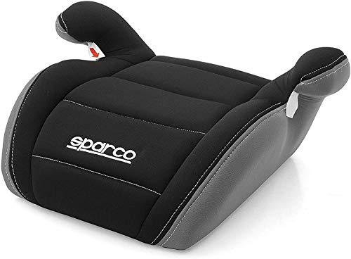 Sparco SP 924ZG - Silla de auto, grupo 2/3, Negro/Gris