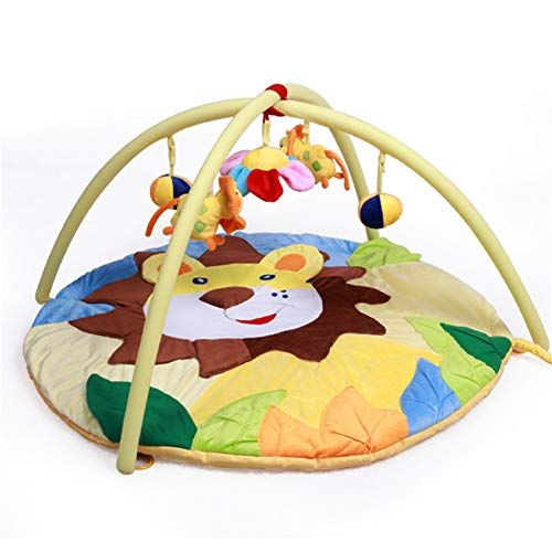 Purchase Z-SEAT Baby Activity Gym Play Mat with Hanging Toys and Music Washable Super Soft Cloth Gif...