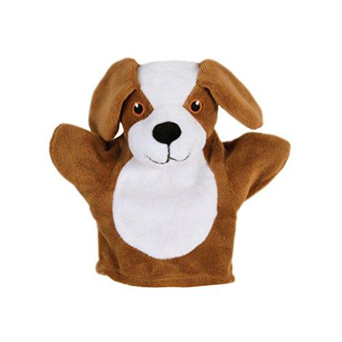 The Puppet Company - Il mio primo cane burattino Marionetta da Mano, Bianco