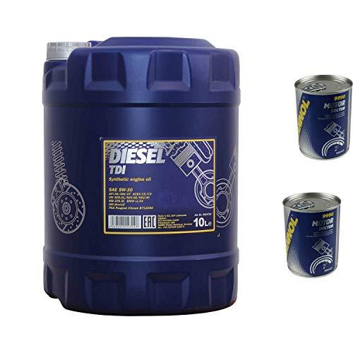 bester der welt 10l Motoröl MANNOLDiesel TDI 5W-302x Motorarzt ADDITIVE 2021