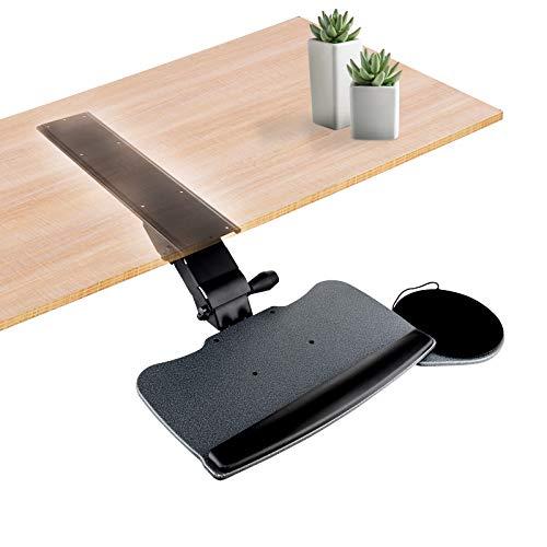 FERSGO Under Desk Keyboard Tray, Easy to Install 20
