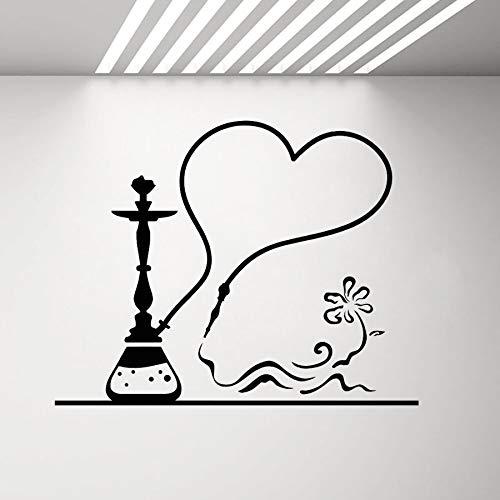 zhuziji Traum Zitate Wandaufkleber , Cafe Lounge Shisha Rauch Shisha Bar S Bedroomvinyl Wasserdichter Hintergrund Selbstklebende Wohnung Wandaufkleber De42x33cm