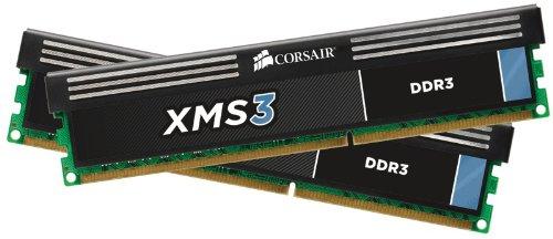 Corsair XMS3 8GB (2x4GB) DDR3 1600 MHz (PC3 12800) Desktop Memory