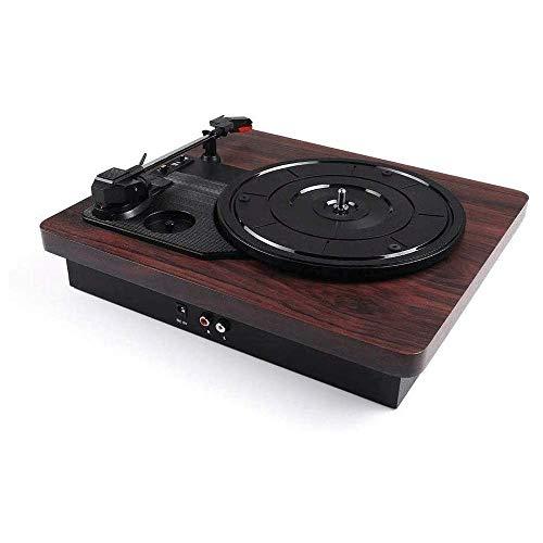 ZSMLB Music Box Giradischi per Streaming Wireless, modalità Giradischi Integrate per Un Suono Superiore Giradischi Bluetooth Giradischi a 3 velocità per l'intrattenimento Decorazione della casa