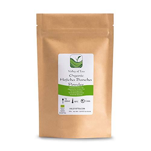 Bancha Hojicha Polvo Biológico Japonés - Baja En Cafeína Asados - Té...