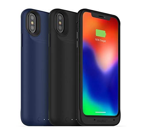 Mophie 'Juice Pack Air' powerbank voor iPhone X, blauw
