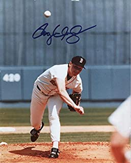 ROGER CLEMENS BOSTON RED SOX SIGNED AUTOGRAPHED 8X10 PHOTO W/COA
