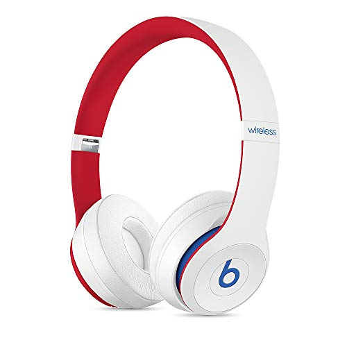 Beats Solo3 Wireless - Auriculares supraaurales - Chip Apple W1, Bluetooth de Clase 1, 40 horas de sonido ininterrumpido - Blanco Club