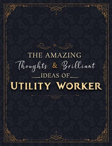 Compare Textbook Prices for Utility Worker Sketch Book - The Amazing Thoughts And Brilliant Ideas Of Utility Worker Job Title Cover Notebook Journal: Notebook for Drawing, ... 8.5 x 11 inch, 21.59 x 27.94 cm, A4 size  ISBN 9798522355326 by Hodson, Danyl