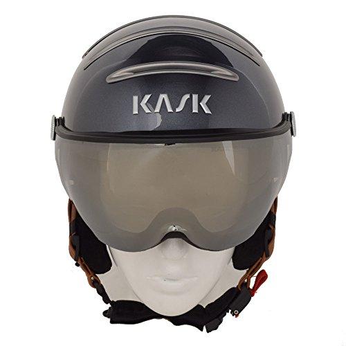 Kask Class - Skihelm mit Visier - Unisex - Anthracite (57-58)