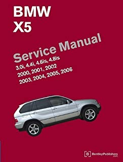 [BMW X5 (E53) Service Manual: 2000, 2001, 2002, 2003, 2004, 2005, 2006: 3.0i, 4.4i, 4.6is, 4.8is] [By: Bentley Publishers] [October, 2010]