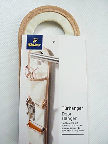 TCM Tchibo Türhänger Aufbewahren von Schlüssel Handy Brille etc. 3 Fächer