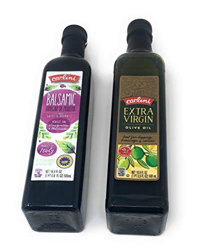 Olive Oil Extra Virgin (1 Bottle) and Balsamic Vinegar (1 Bottle) Pair