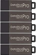 Centon MP Valuepack USB 2.0 Datastick Pro (Grey), 4GB, 5Pack Bulk