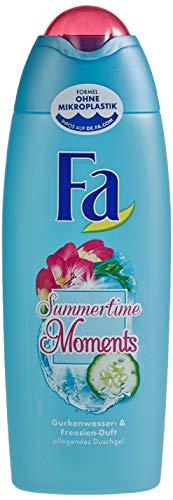 FA Duschgel Summertime Moments mit Gurkenwasser- & Freesien-Duft, 1er Pack (1 x 250 ml)