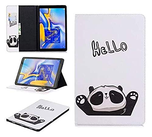 XXY Accesorios de pestañas para Samsung Galaxy Tab a A2 10.5, Funda de Cuero PU de Oso de Flip Owl para Samsung Galaxy Tab a A2 10.5 (Color : 09)