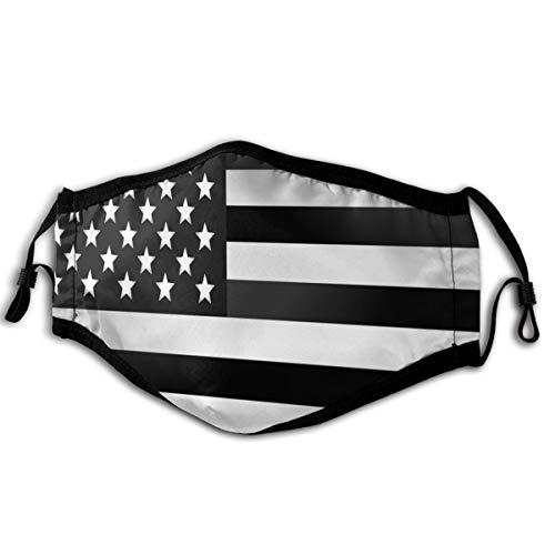 VS-vlag 1 stofmasker half gezicht mondmoffel mode motorfiets anti-stof kostuum mode masker wasbaar en herbruikbaar