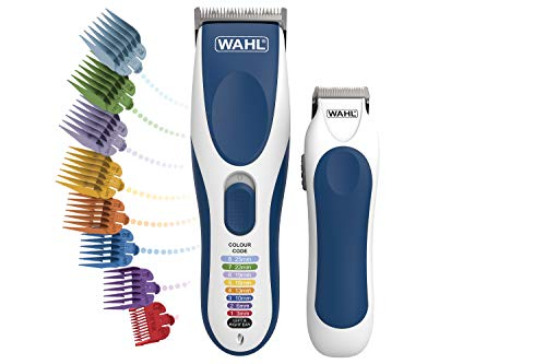 Wahl Hair Clippers for Men, Colour Pro Cordless Combi Kit Head Shaver Men's...