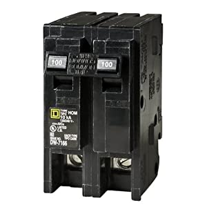 Square D by Schneider Electric HOM2100CP Homeline 100-Amp Two-Pole Circuit Breaker