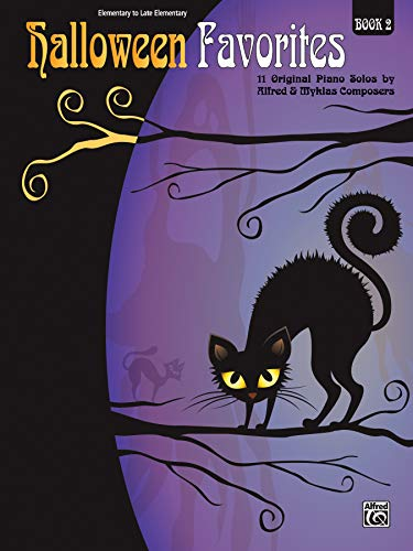 Halloween Favorites: 11 Original Piano Solos by Alfred & Myklas Composers
