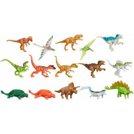 Hasbro Jurassic Park Jurassic World Bag of 15 3' Dinosaurs