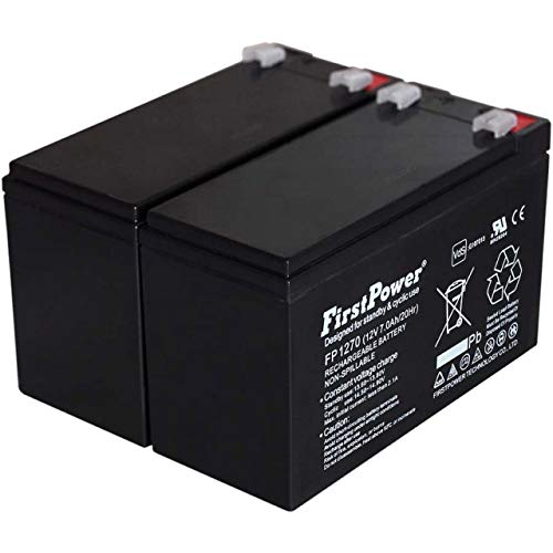 FirstPower Batería de Gel para SAI APC Smart-UPS SMT750I 7Ah 12V