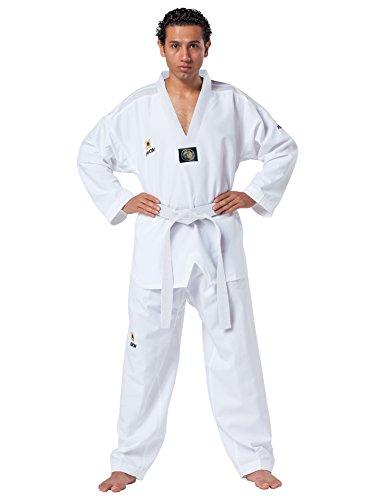 Kwon Taekwondo Anzug Fightlite weißes Revers TKD