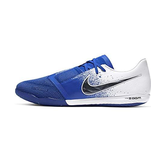 Nike Zoom Phantom Venom PRO IC, Scarpe da Calcetto Indoor Unisex-Adulto, Multicolore (White/Black/Racer Blue 000), 44 EU
