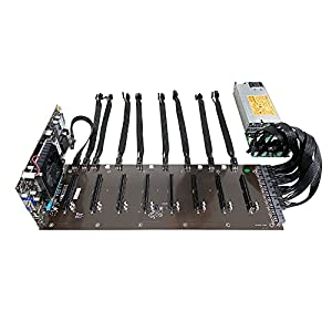 soontech Mining Rig, 8 GPU Complete Miner Rig, Mining Machine System for Building a Bitcoin Mining Rig, GPU Miner…