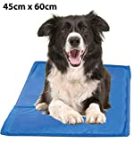 Guilty Gadgets Pet Summer Cooling Mat Cold Gel Pad Comfortable Cushion for Dog Cat Puppy 45cm x 60cm
