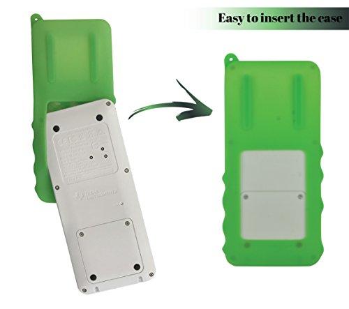 Silicone Case for Ti 84 Plus CE Calculator (Green) - Cover for Texas Instruments Ti-84 Graphing Calculator - Silicon Skin for Ti84 Plus - Protective & Anti-Scretch Cases - Ti 84 Accessories by Sully Photo #2