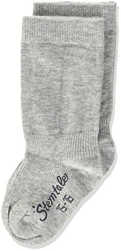 Sterntaler Sterntaler Unisex Baby Kniestrümpfe Doppelpack Socken, Silber mel., 23-36