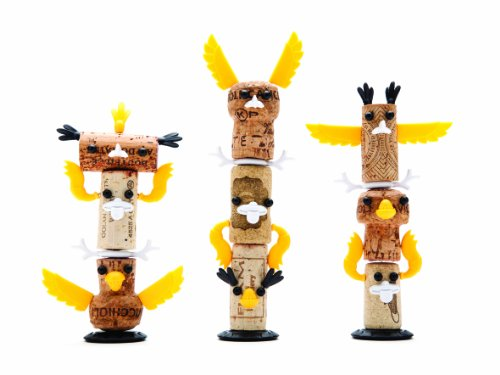 Corkers Totem Kit - decorative pins to bring your wine corks to life!