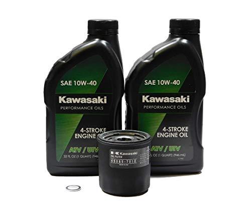 2005-2021 Kawasaki Mule 600 610 SX KAF 400 OEM Oil Change Kit KAW05