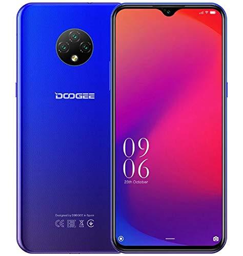 4G Smartphone Offerta DOOGEE X95 PRO (4GB+32GB), Android 10 Cellulare Dual SIM, 6,52'' Waterdrop HD+ Schermo, Batteria 4350 mAh Ricarica Rapida, 13MP Tripla fotocamera, Riconoscimento Facciale Blu