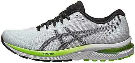 ASICS Men's Gel-Cumulus 22 Running Shoes, 11.5, White/Black