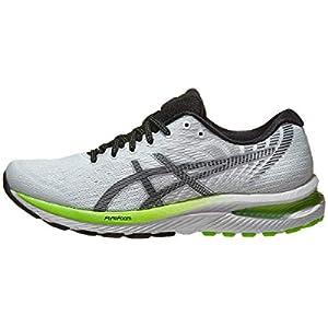ASICS Men's Gel-Cumulus 22 Running Shoes, 10, White/Black