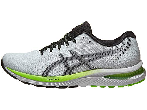 ASICS Men's Gel-Cumulus 22 Running Shoes, 9M, White/Black
