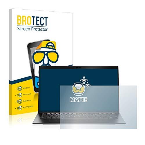 BROTECT Entspiegelungs-Schutzfolie kompatibel mit Sony Vaio SX14 Bildschirmschutz-Folie Matt, Anti-Reflex, Anti-Fingerprint