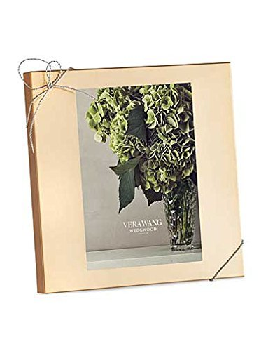 Wedgwood Vera Wang Love Knots Frame, 5 by 7, Gold by Wedgwood