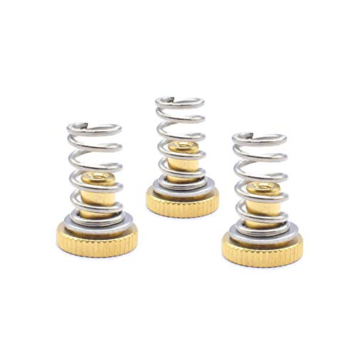 without 3 Sets 3D Printer Accessories DIY UM2 Ultimaker 2 Adjustment Nut + Springs+ Flat Washers For CNC Trapezoidal Lead Screw Printer