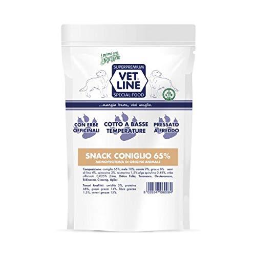 Snack Cane Coniglio 80gr. Vet Line