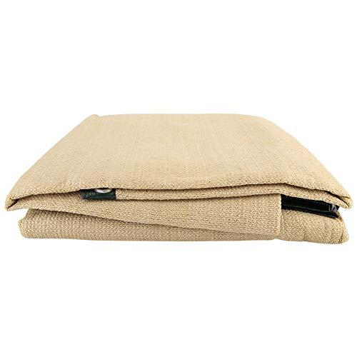 Zerone Shade Cloth, 6 Pins HDPE Mesh Anti-UV Sunblock Sunshade Net Cover for Balcony Yard(2×2meter)