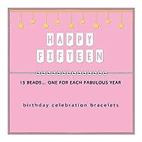 SOLINFOR 15歳の誕生日プレゼント 女の子用 - スターリングシルバービーズブレスレット - 15歳の女の子用 - ジュエリーギフトアイデア