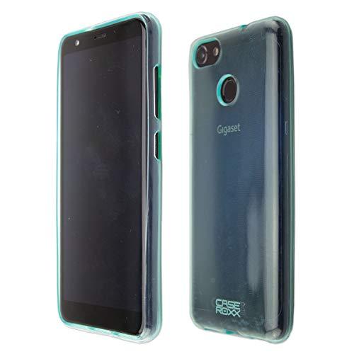 caseroxx TPU-Hülle für Gigaset GS280, Handy Hülle Tasche (TPU-Hülle in hellblau)