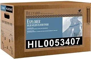 HILLYARD Explorer Floor Finish 5 GAL Box
