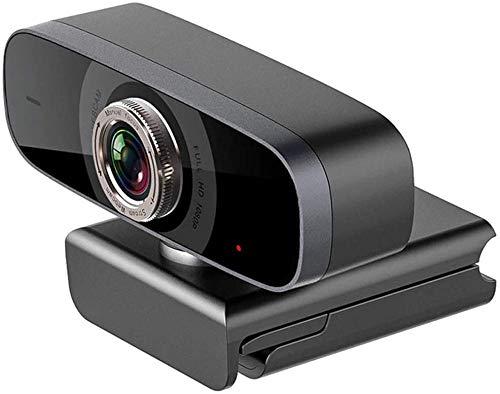 LYYJIAJU Cámara web 1080P/960P HD para Skype con micrófono incorporado, enchufe USB y cámara de vídeo, vídeo panorámico