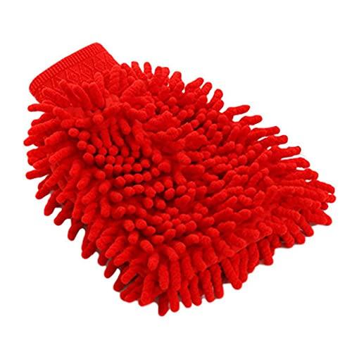 AnXiongStore Guantes de Lavado de Coche de Doble Cara, Toalla de Microfibra, Cepillo de Limpieza de Lavado de Coches múltiple, Toalla, Guantes de Cocina para el hogar, Accesorios